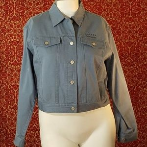 RALPH LAUREN blue denim jacket M